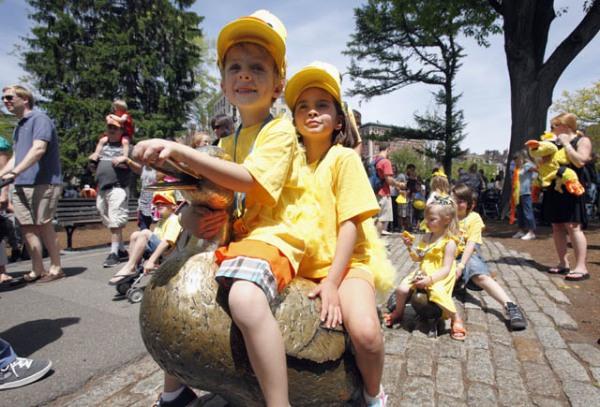 Friends of the Public Garden Duckling Day