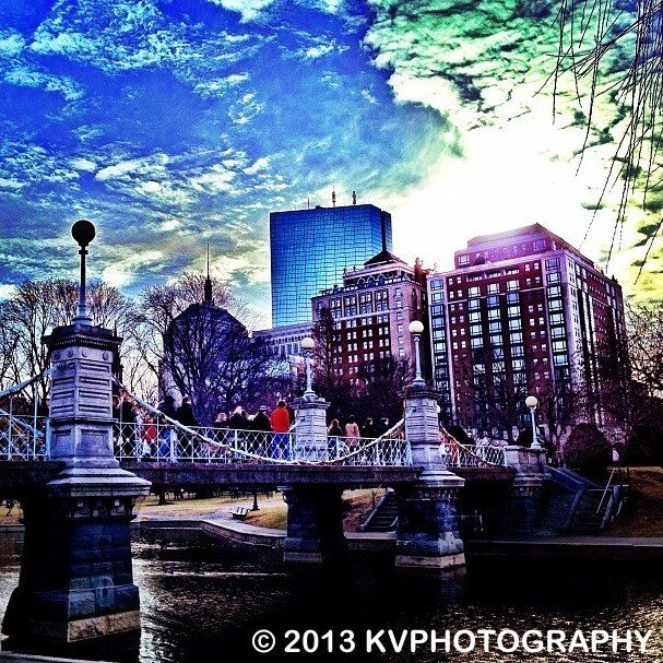 Public Garden Photo Credit @ItalianinBoston
