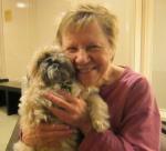 Barbara with Kobe