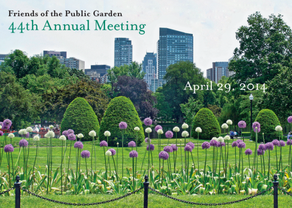 Friends of the Public Garden Annual Meeting 2014