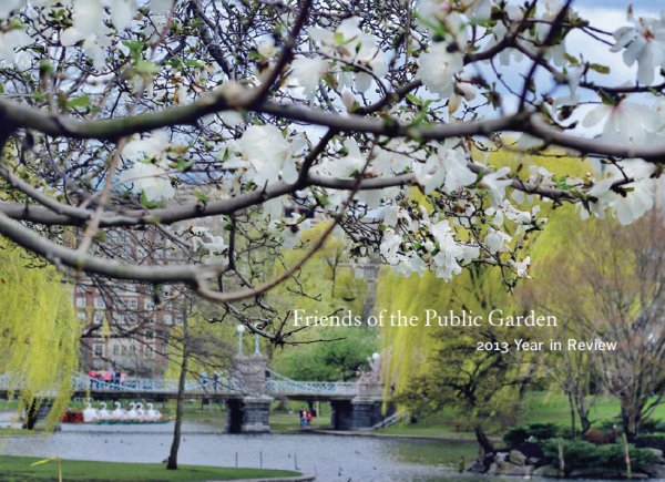 Friends of the Public Garden 2013 Year in Review