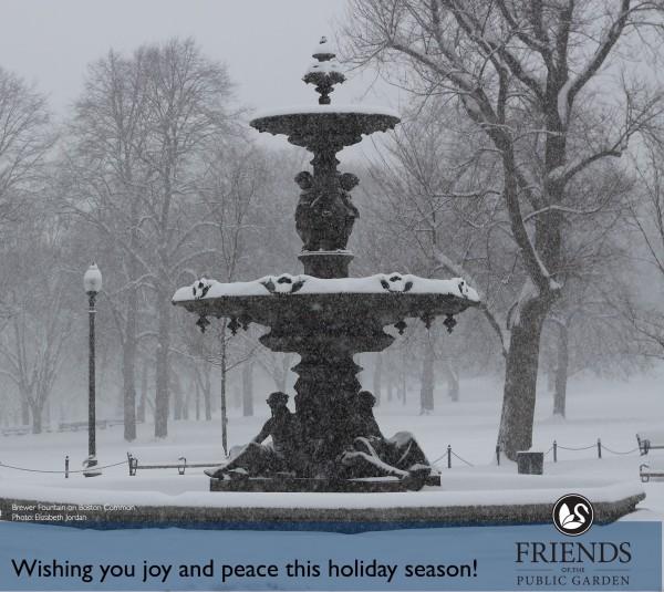 Photo: Brewer Fountain by Elizabeth Jordan